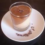 Panna cotta s kakaovým krémem