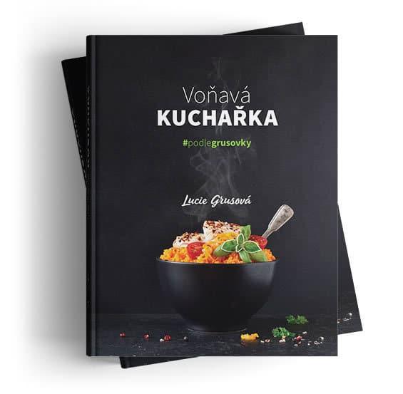Tištěná Voňavá kuchařka - Lucie Grusová