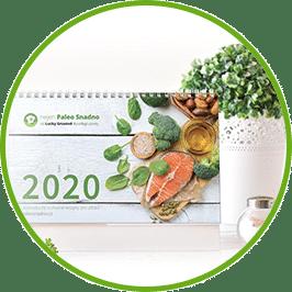 Kalendář s recepty pro rok 2020